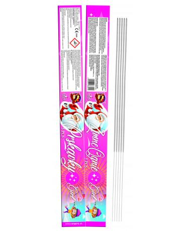 Prskavky/Ognie GIRL 60cm 5ks