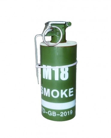 Smoke M18 biela 1ks
