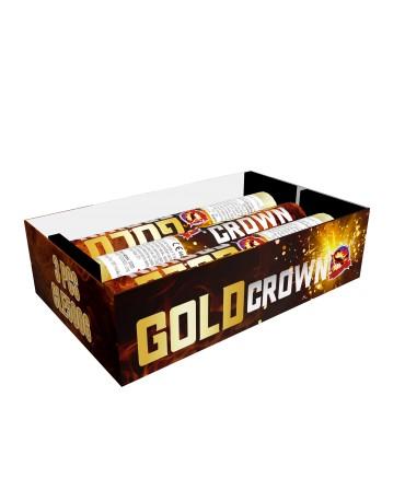 XL Gold crown 3ks